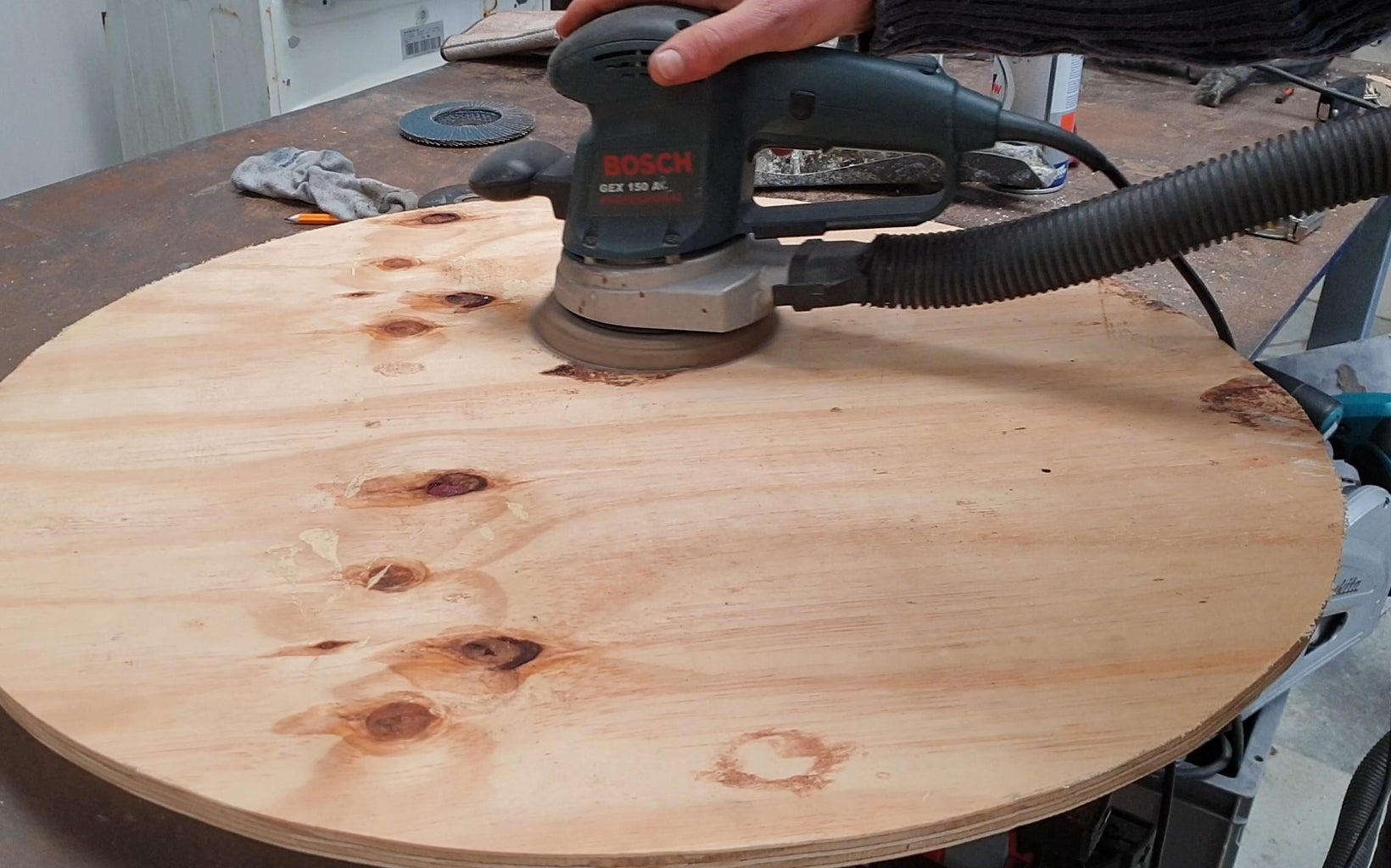 The Spinning Platter #3 - Gluing Up