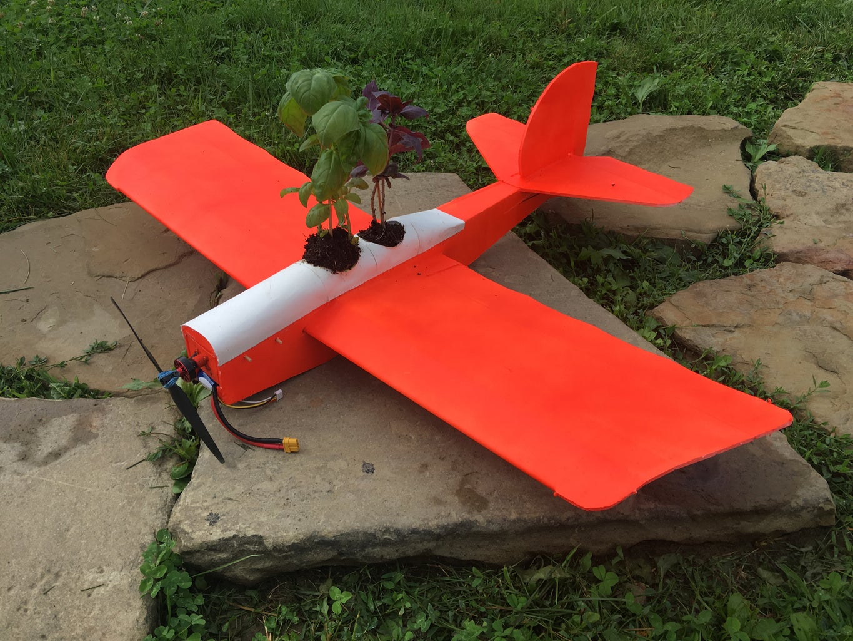 Rc Plane Planter