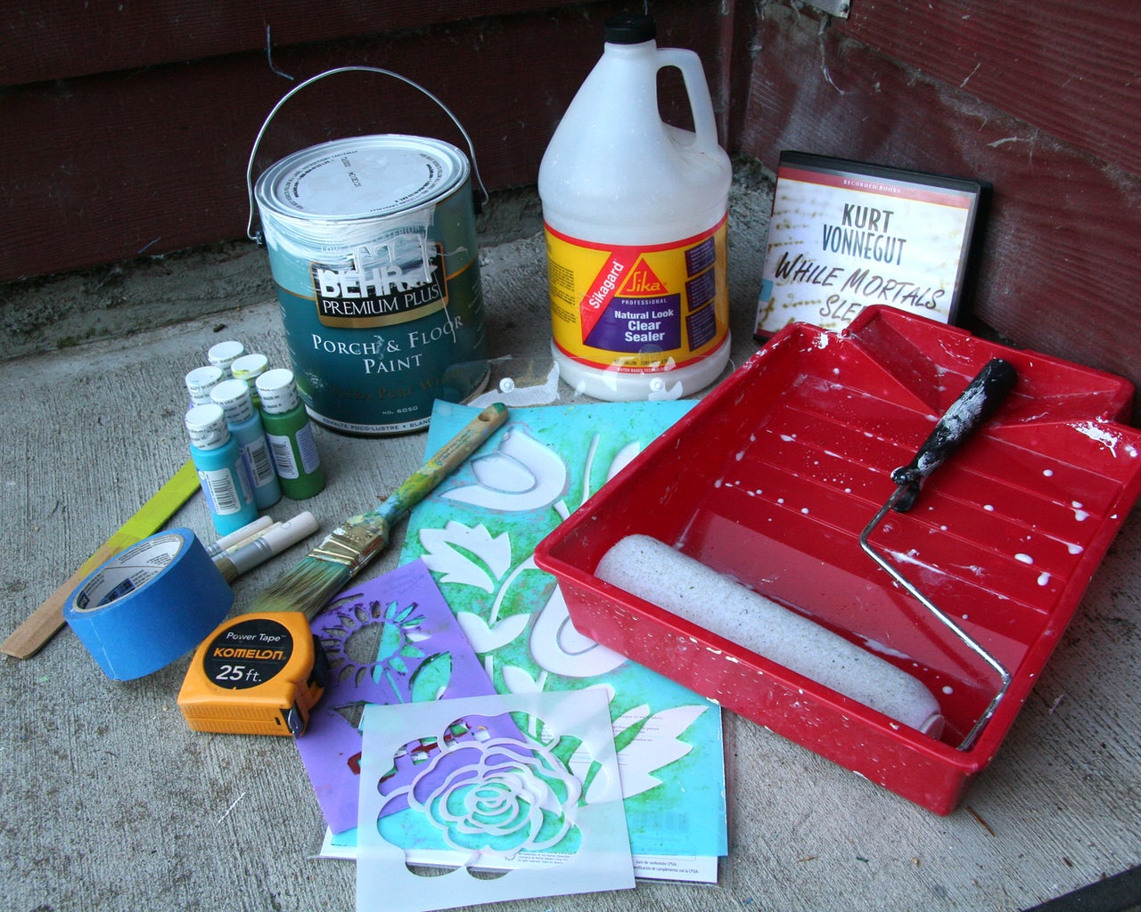 Supplies, Cleaning Concrete