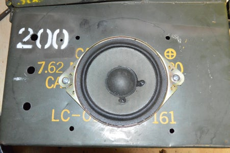 Add the Speaker to the Ammo Box