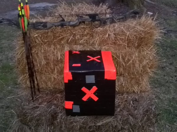 Home Made Compound Bow and Cross Bow Target