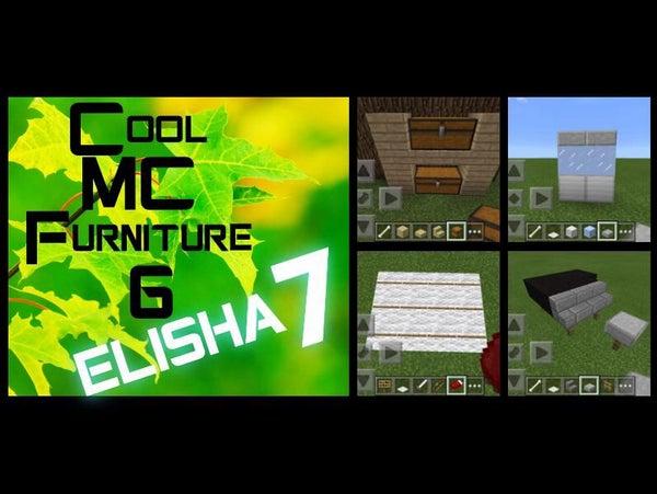 Cool MCPE Furniture 6