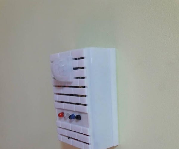 Wirless Alarm and Remote Based Nodemcu and TelegramBot