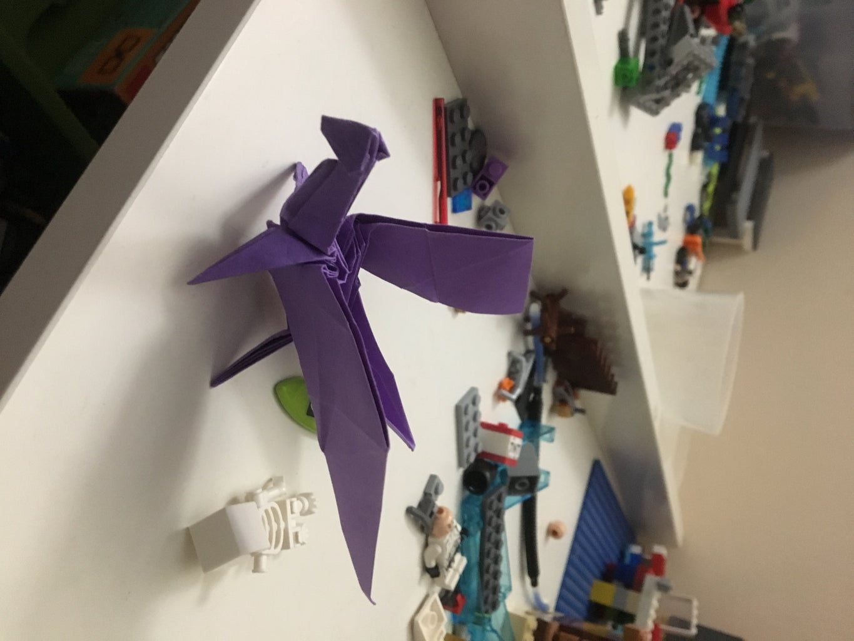 Fold Origami Dragon