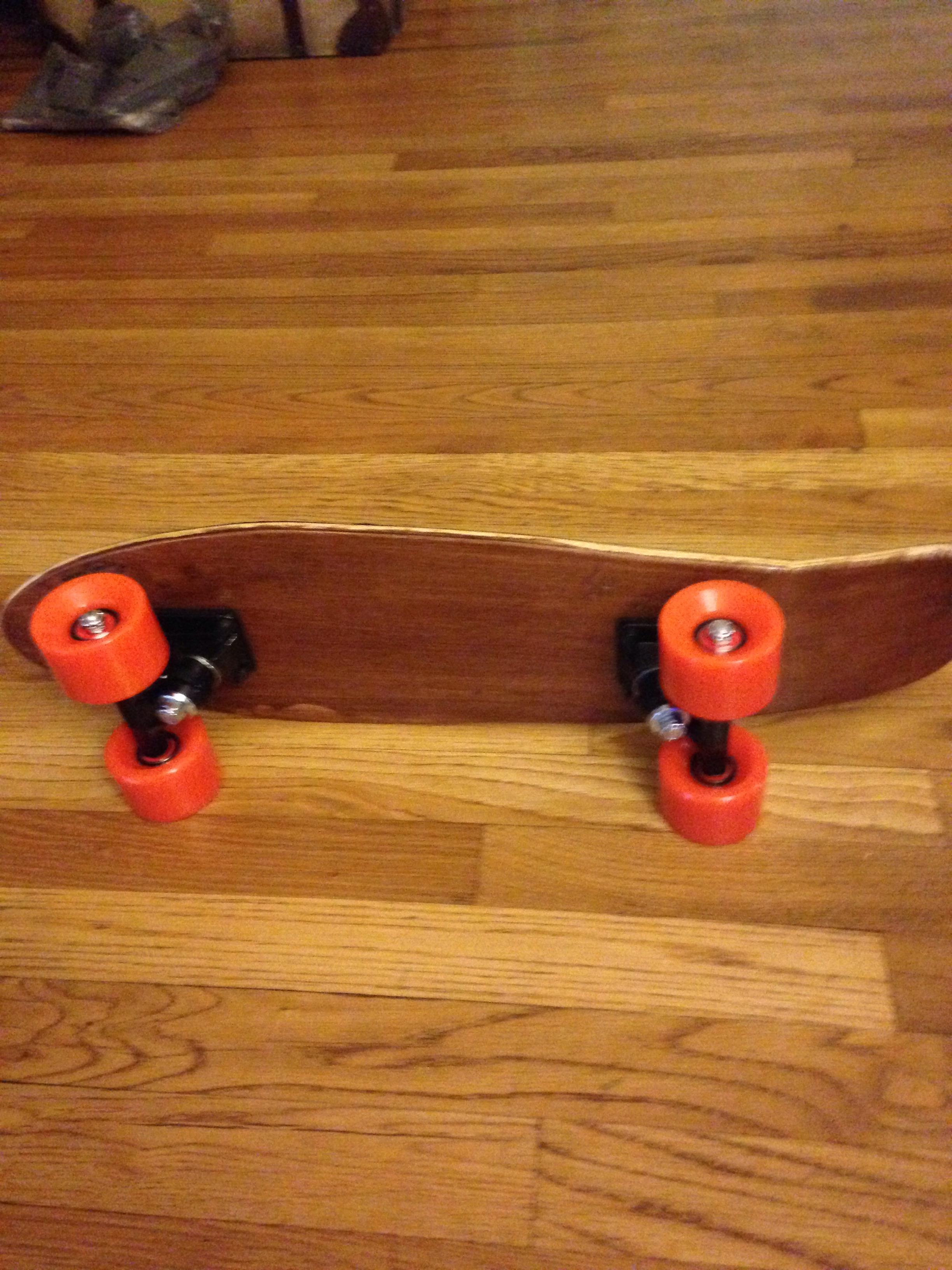 3 Ply Wood Cruiser Board Simple