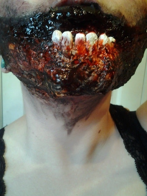 Zombie Mouth FX Makeup