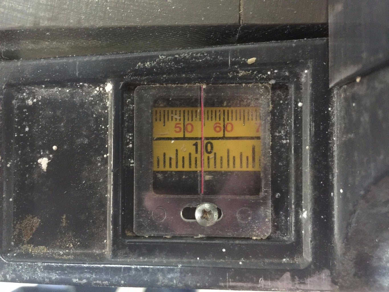 Adjust Your Rip Scale Indicator