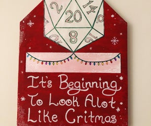 Merry Critmas DND Sign