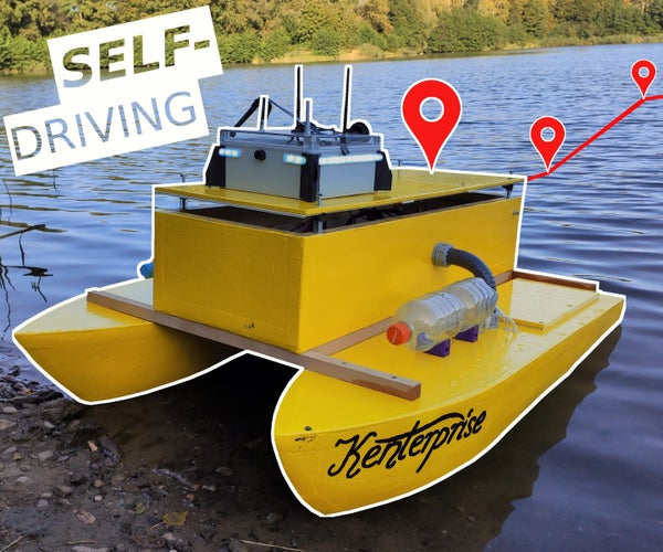 Building a Self-Driving Boat (ArduPilot Rover)