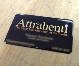 Gold Foil Business Card