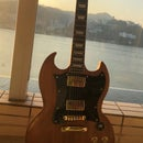 Gibson SG Style Guitar Build - My first guitar project
