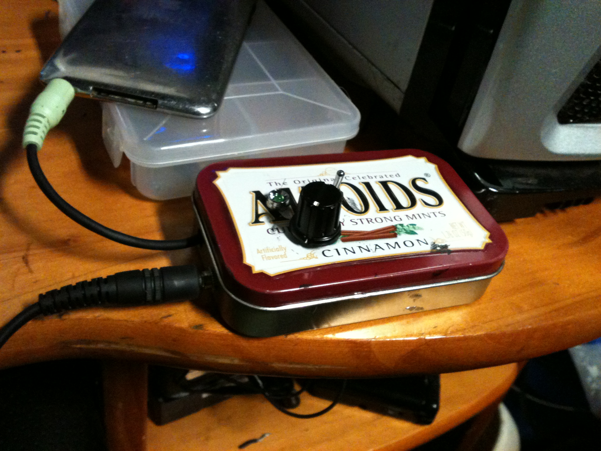 My first Cmoy headphone amp!