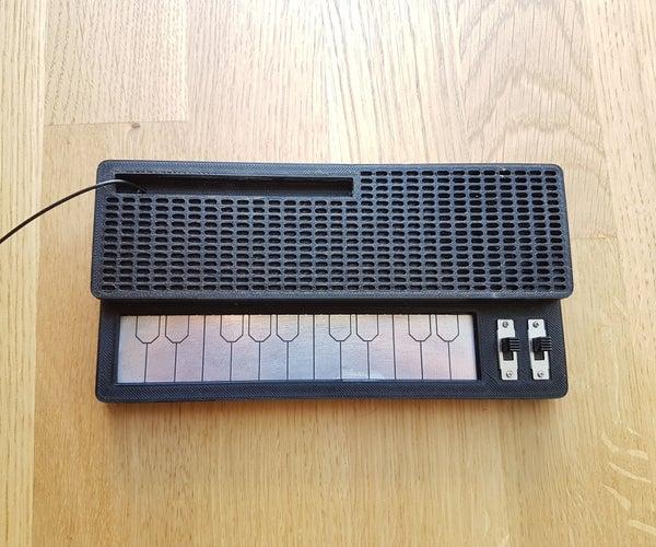 Retro Stylophone (NE555 Based)