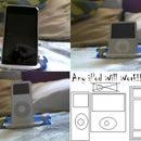 Make A iPod Portable Stand