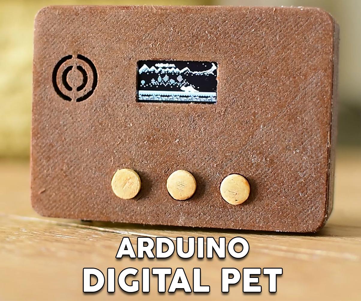 Arduino Tamagotchi Clone - Digital Pet