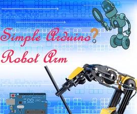 Simple Arduino Robot Arm
