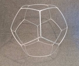 Make a Dodecahedron Out of Plastic Straws