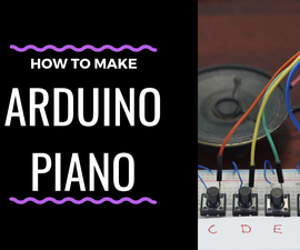 Mini Piano Using Arduino