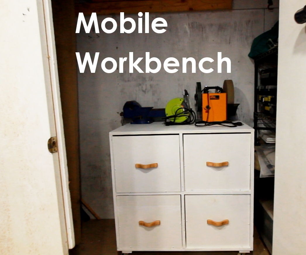 Mobile Workbench W/ Plywood