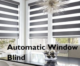 Automatic Curtain/Window Blind Using Arduino and LDR