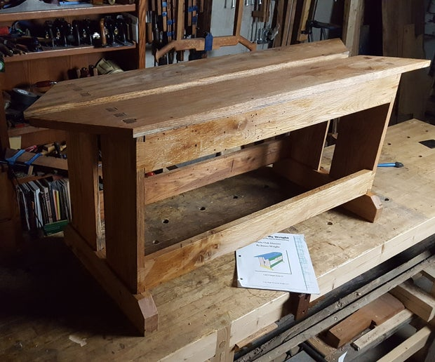 Making A Saw Bench 8 Steps With Pictures Instructables