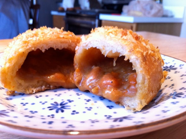 Japanese Curry Buns (Kare-Pan)
