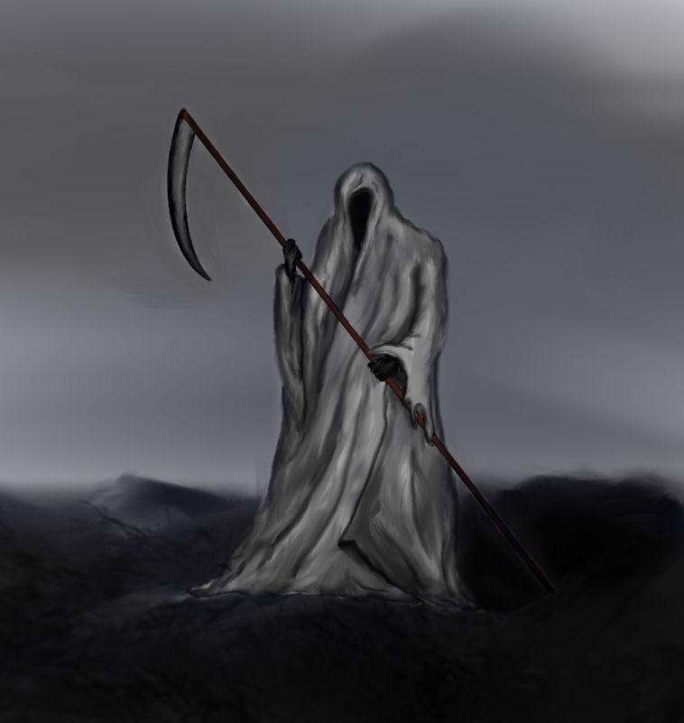 How to Draw a Grim Reaper