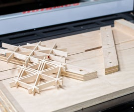 Hexagonal Kumiko Table Saw Sled