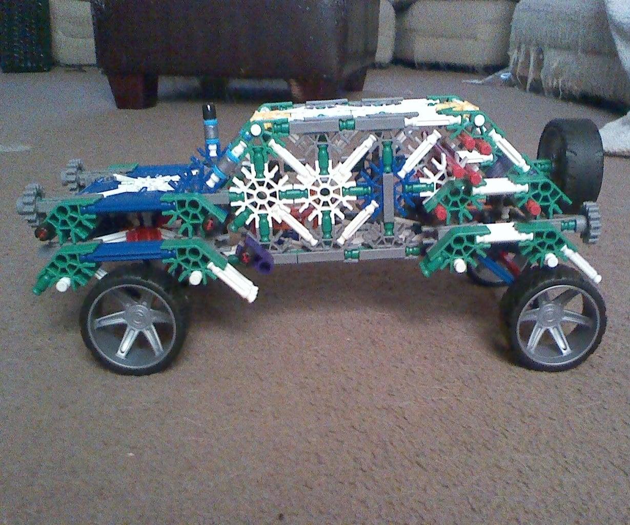 K'nex Jeep