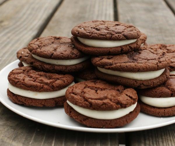 Easy Homemade Oreo Cookies