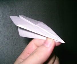 """""""Speed Demon"""" Paper Airplane"""