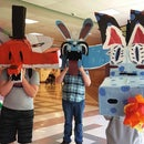 Wayne White Inspired Cardboard Masks