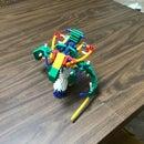 Knex Starcraft Hydralisk Made by Boostyrocket