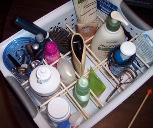 Modular Organized Storage Basket