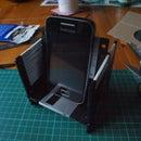 Floppy disk phone dock