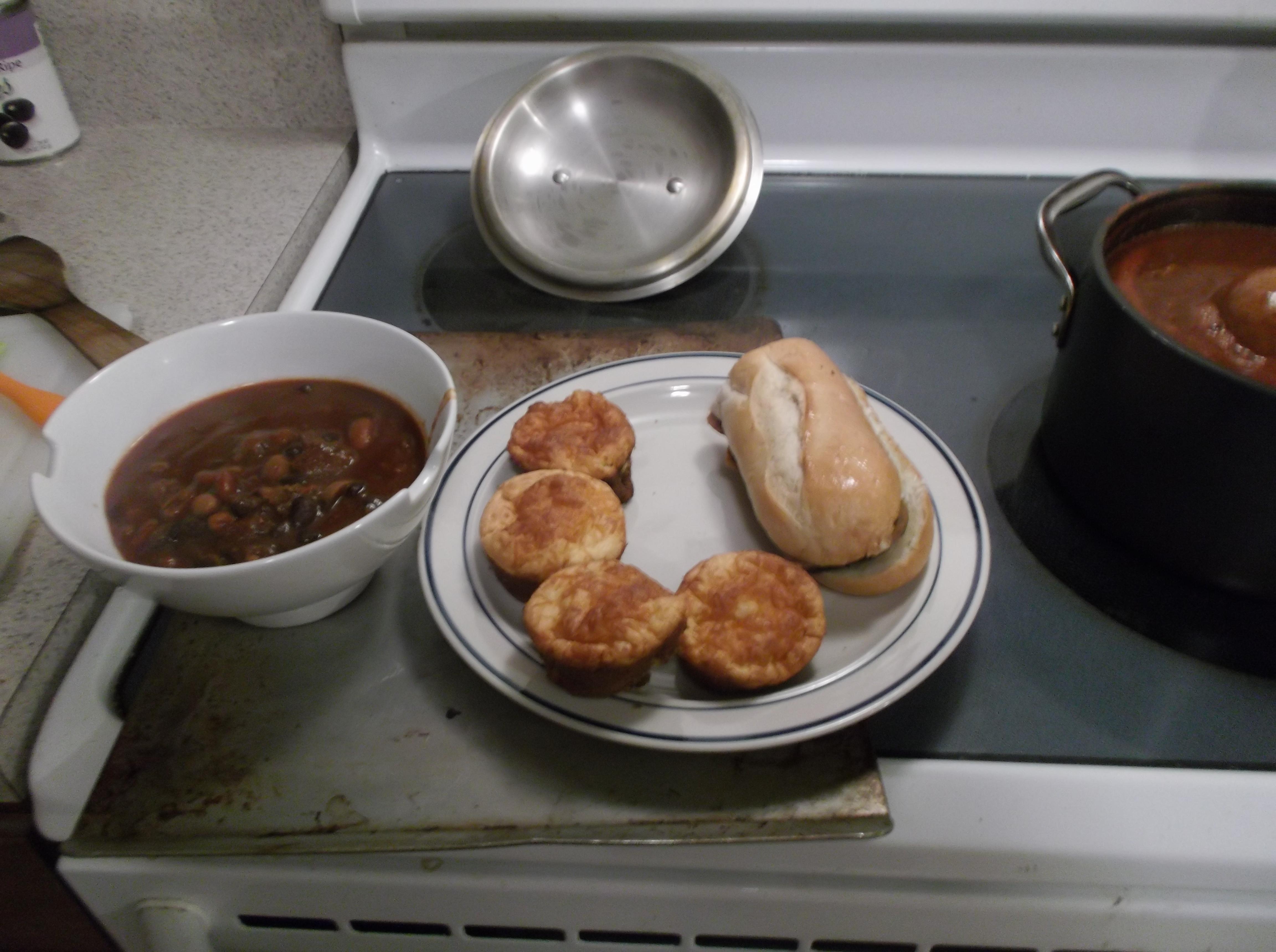 Easy Dinner Muffins