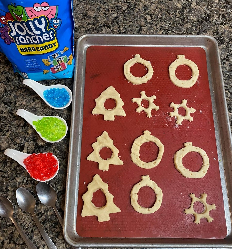 Rolling Dough and Cutting Cookies