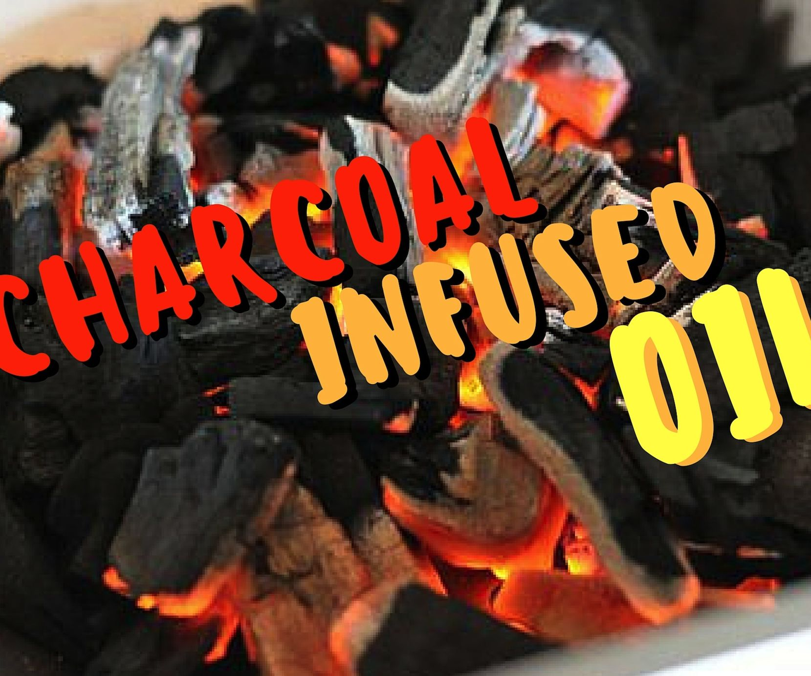 Charcoal Infused Oil