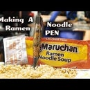 Pen Out of Ramen Noodles