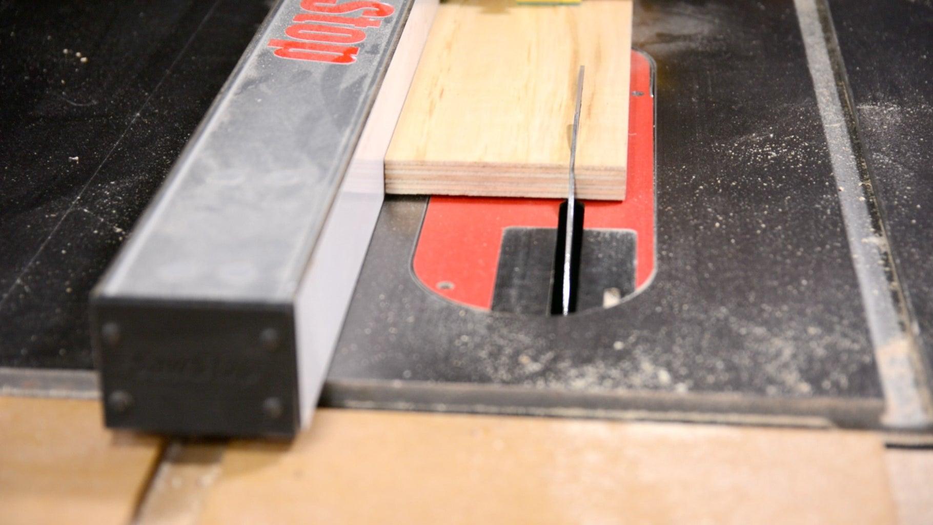 Step 17: Cut Stop Block