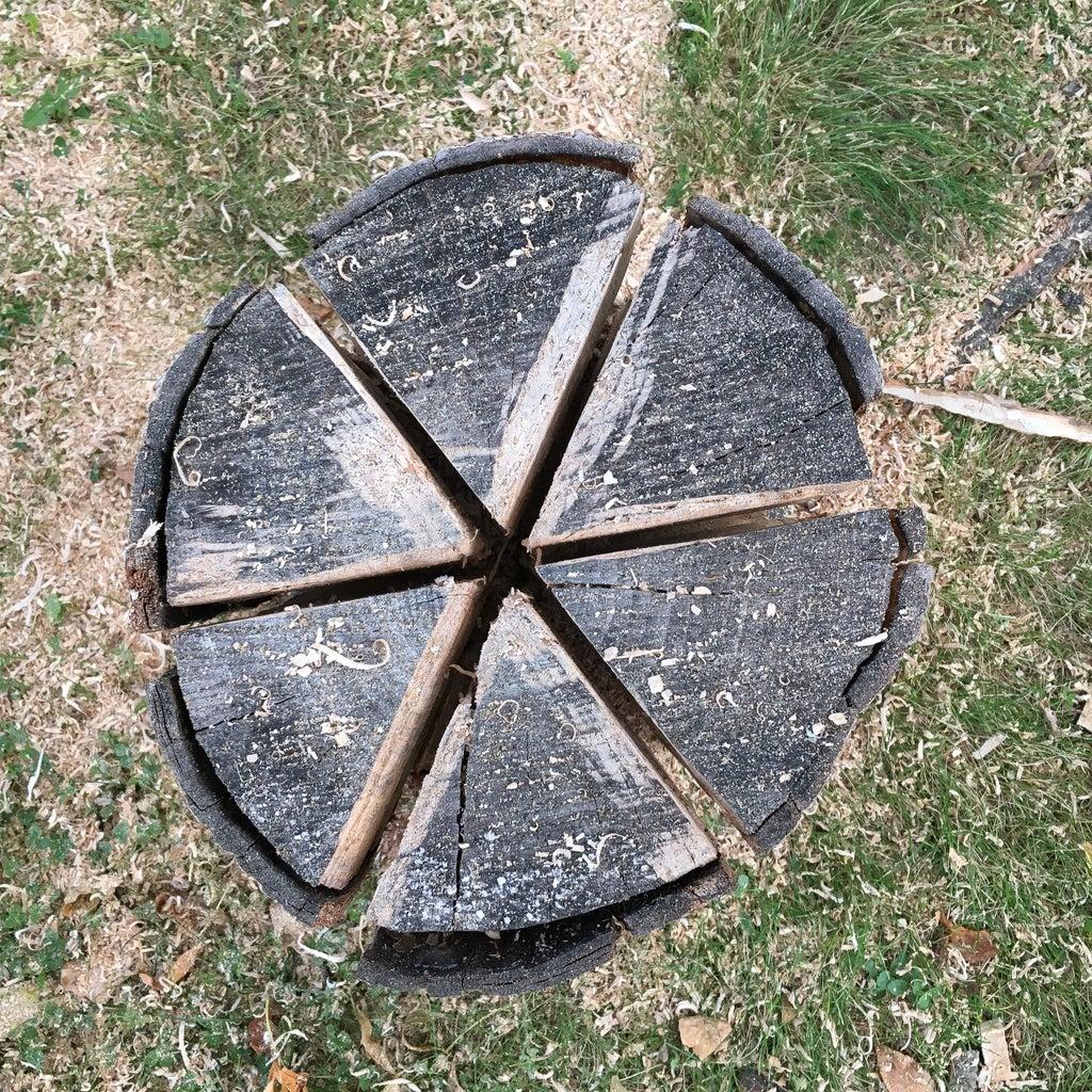 Cut the Fire Log