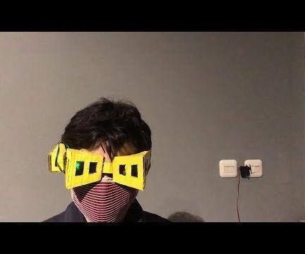 Eye-Blink Controlled Light Switch Using Shota Aizawa's Eraser Head Goggles (My Hero Academia)