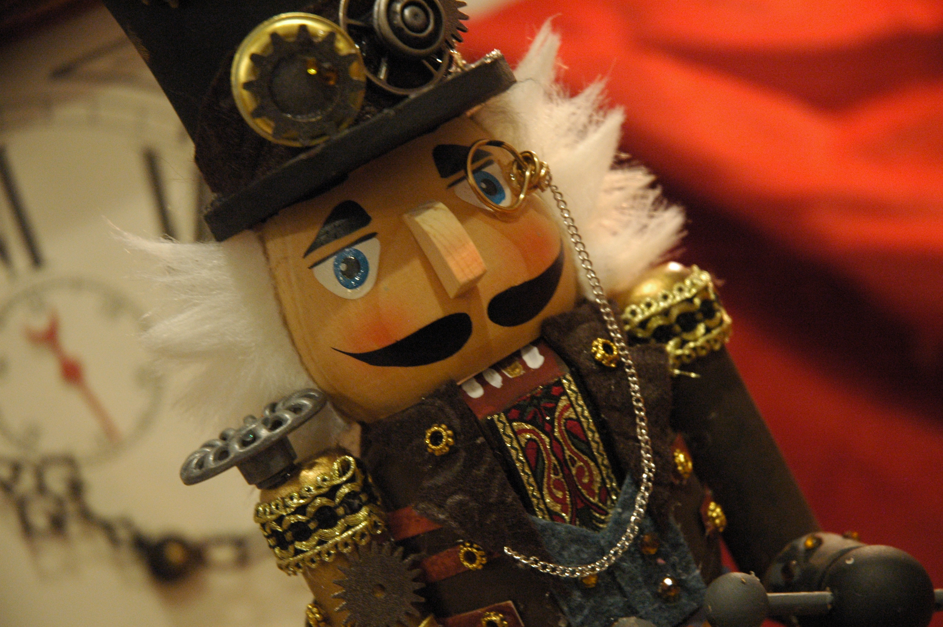 Steampunk Nutcracker