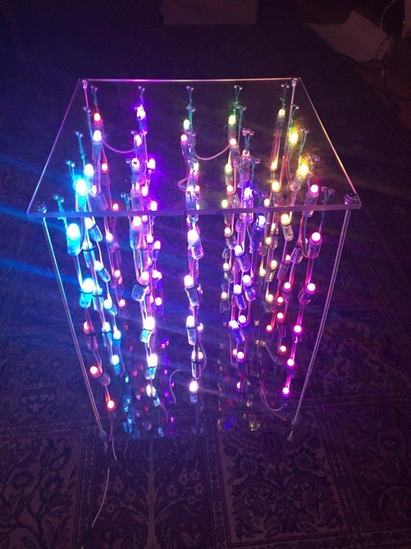 No Soldering LED Cube
