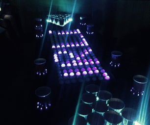 Light Up Beer Pong