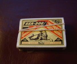 Matchbox Match Gun!