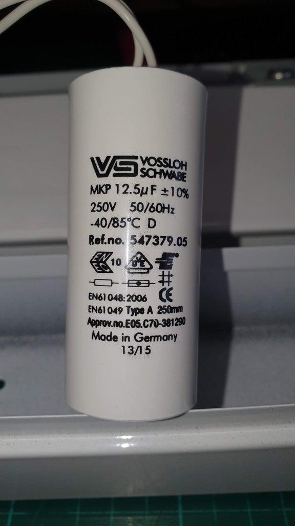 Big Easy Capacitor Secret Compartment