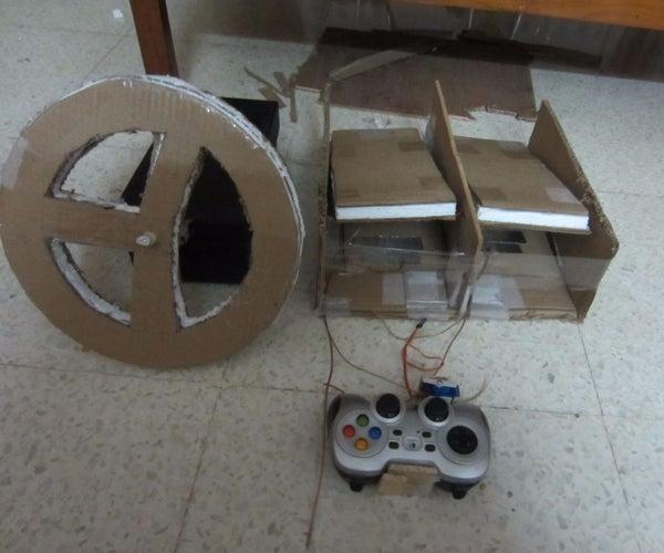 Arduino Controlled Pc Steering Wheel