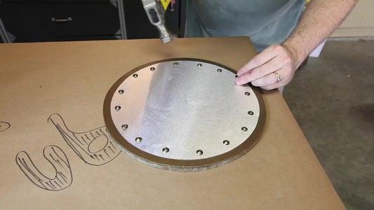 Install the Aluminum Disc
