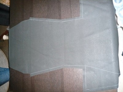 Cut Inner and Outer Fabric